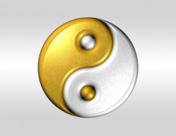 Prata e ouro: Yin e Yang nos metais