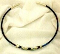 Gargantilha da designer de joias Xênia Spirópulos