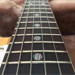 Detalhes de Fordite em Instrumento Musical - Wallace Detroit Guitars